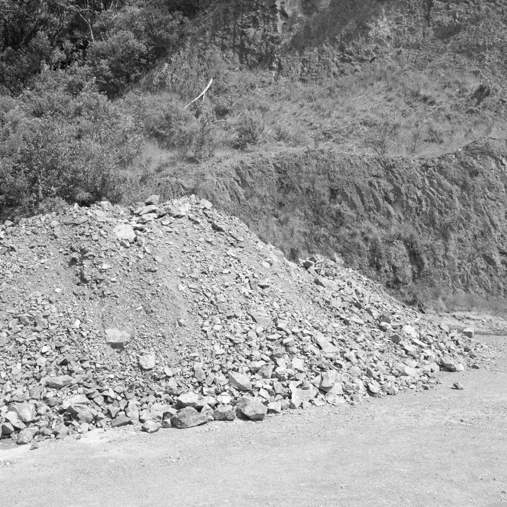 Metal pile. Urewera National Park.